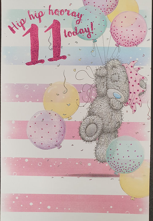 11th Birthday - Me To You Greeting Card