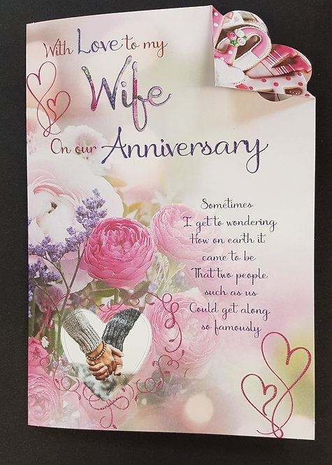 Anniversary - Wife Greeting Card