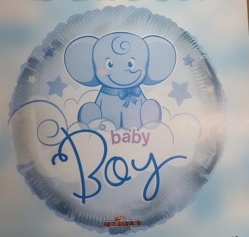 "18"" Baby Boy Balloon - Helium Filled"