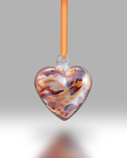 November Birth Gem Heart Nobile Glassware Friendship Ball