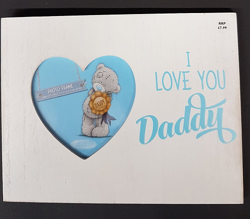 Daddy Wooden Picture Frame by Me to You
