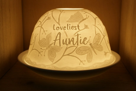 Nordic Light Candle Shade For The Loveliest Auntie