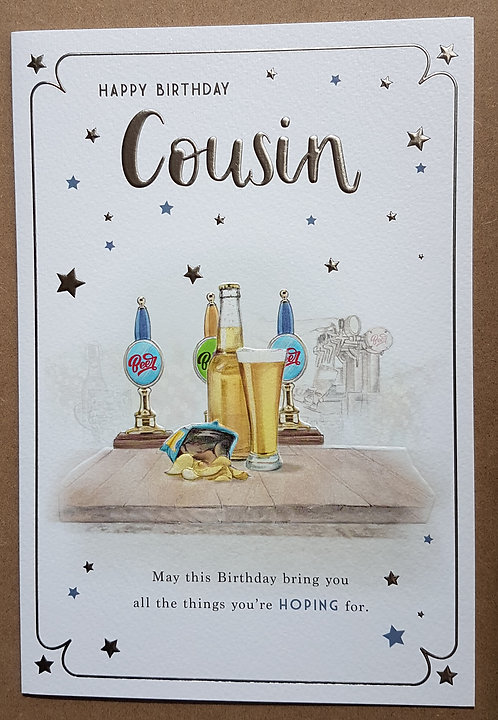 Cousin Birthday Card