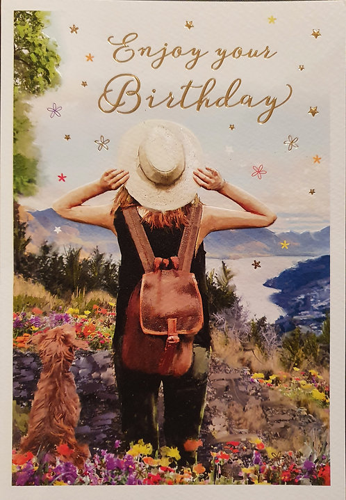 Female Birthday Greeting Card