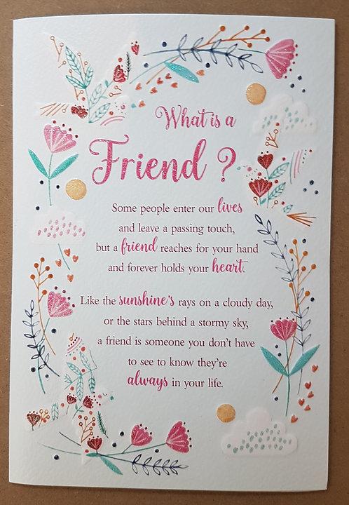 Eternal Range - What is a Friend? Card