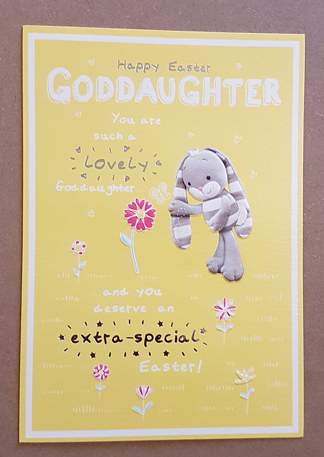 Goddaughter - Easter Greeting Card