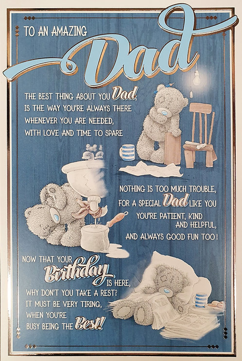 Dad Birthday Card - Me to You