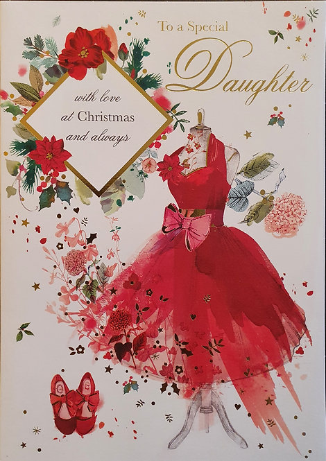 Daughter Christmas Greeting Card