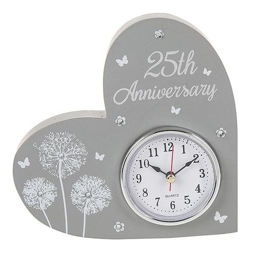 25th Anniversary Celebration Clock
