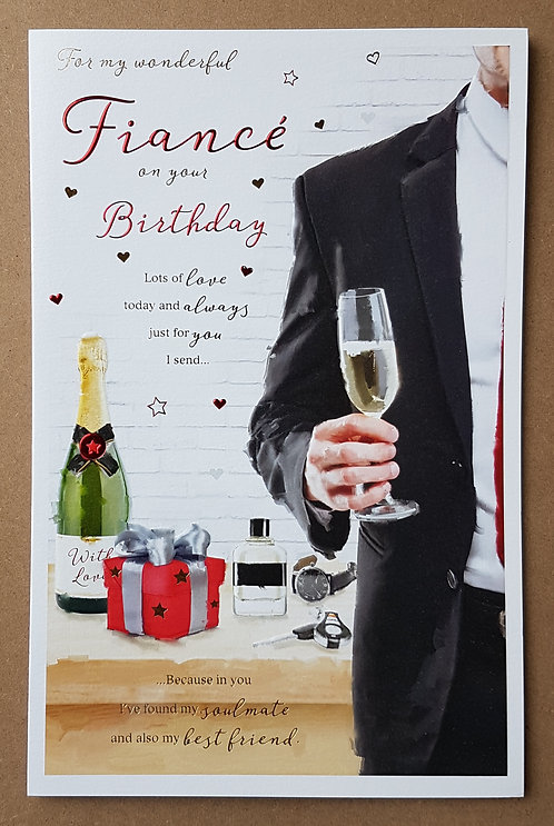 Fiance Birthday Card