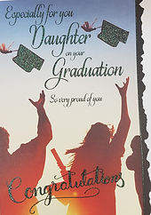 Daughter graduation Greeting Cards