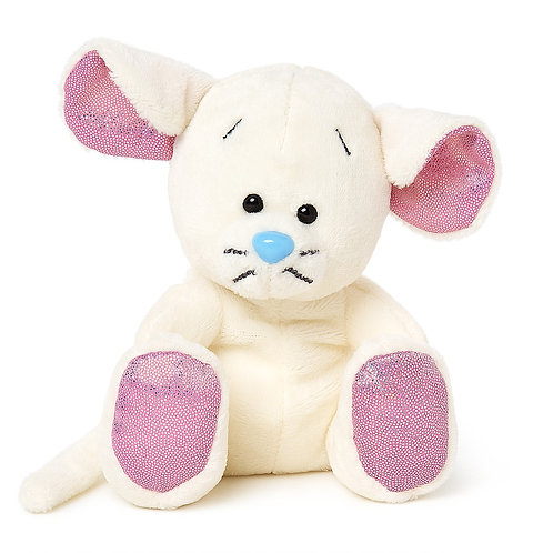 White Mouse - My Blue Nose Friends plush