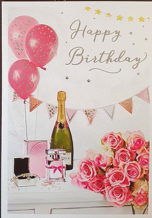Female Birthday Greeting Card