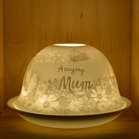 Nordic Light Candle Shade For An Amazing Mum