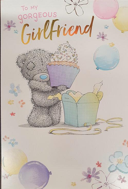 Gorgeous Girlfriend Birthday Greeting Card By Me To You Tatty Teddy