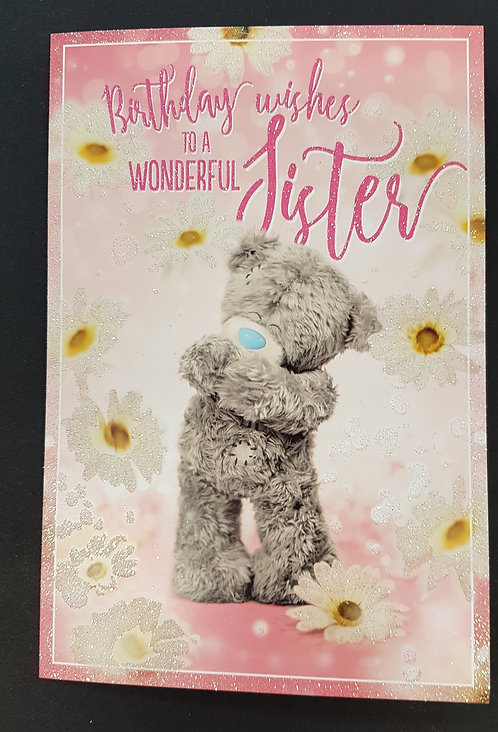 Sister Me to You Birthday Card