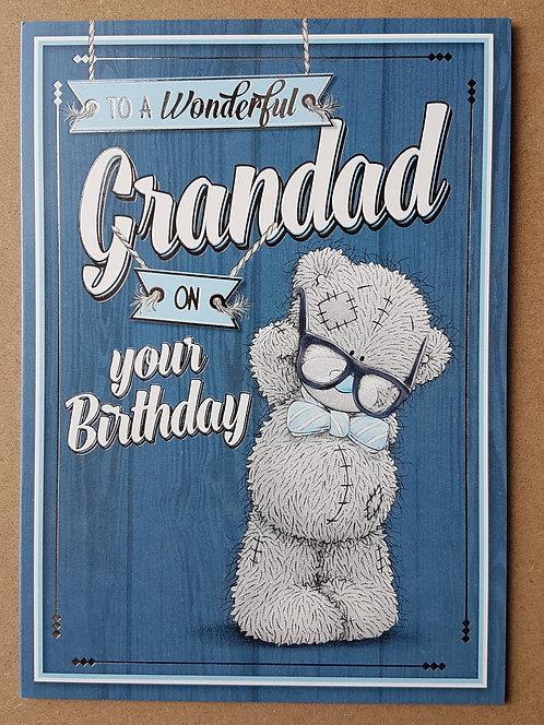 Grandad Birthday Card - Me to You
