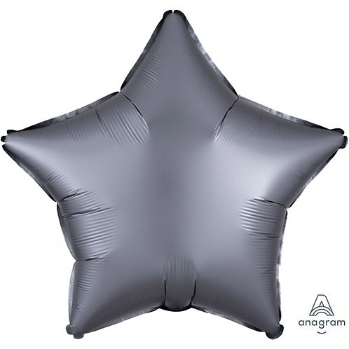"""18"""" Graphite Star -  Anagram Balloon - Helium Filled"""