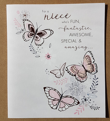 Niece Birthday Card