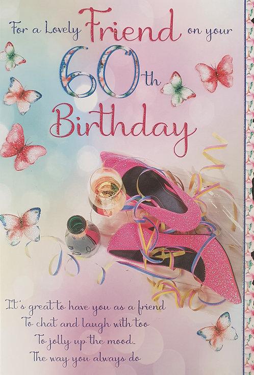 60th Birthday - Friend