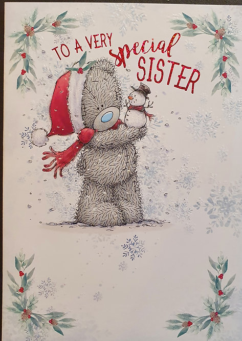 Sister Christmas Card - Me To you