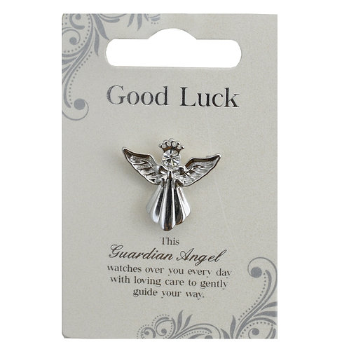 Guardian Angel Pin - Good Luck