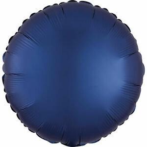 """18"""" Navy Blue Round -  Anagram Balloon - Helium Filled"""