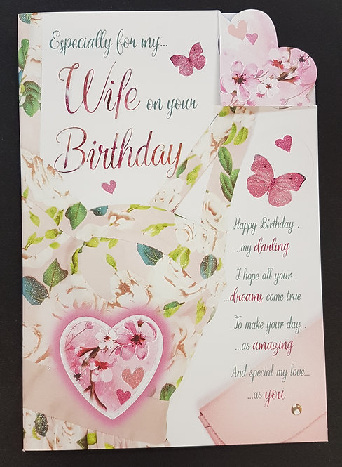 Wife Birthday Greeting Card