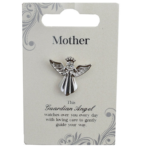 Guardian Angel Pin - Mother