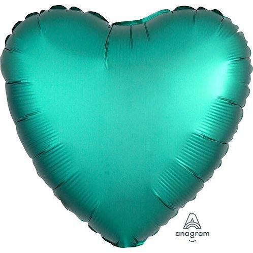 "18"" Jade Heart -  Anagram Balloon - Helium Filled"