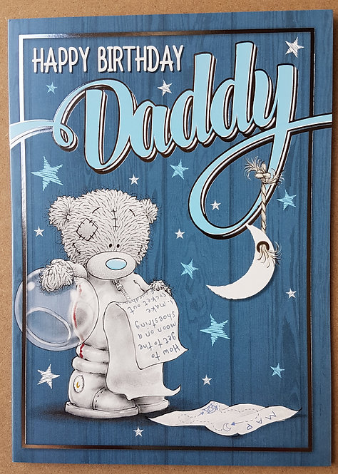 Daddy Birthday Card - Me to You