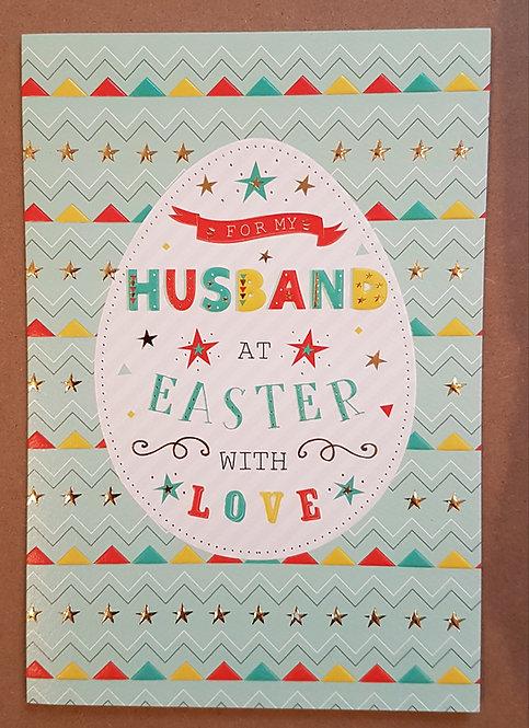 Husband - Easter Greeting Card