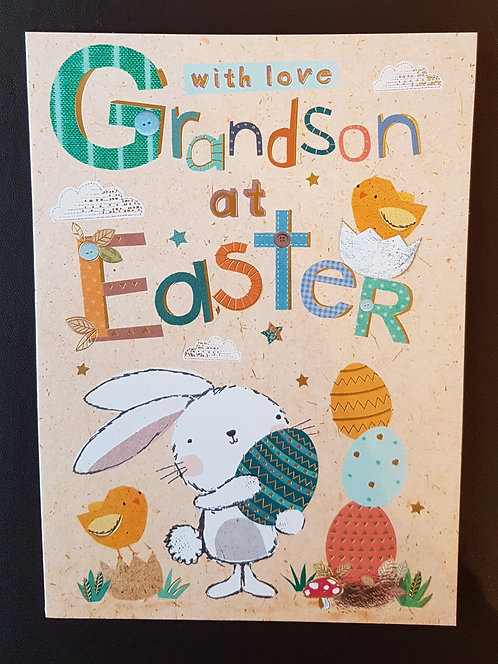 Grandson - Easter Greeting Card