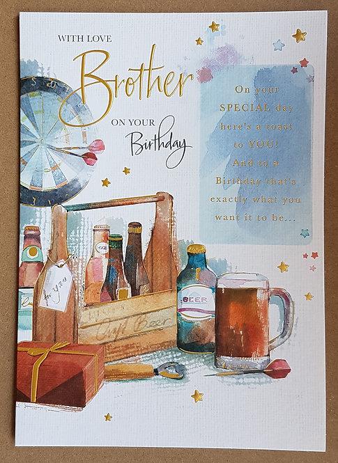 Brother Birthday Card