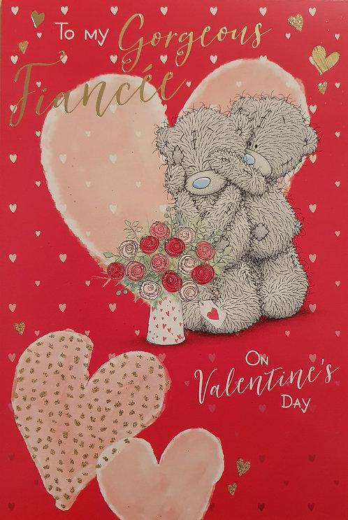 Fiancée Me to You Valentine's Day Card