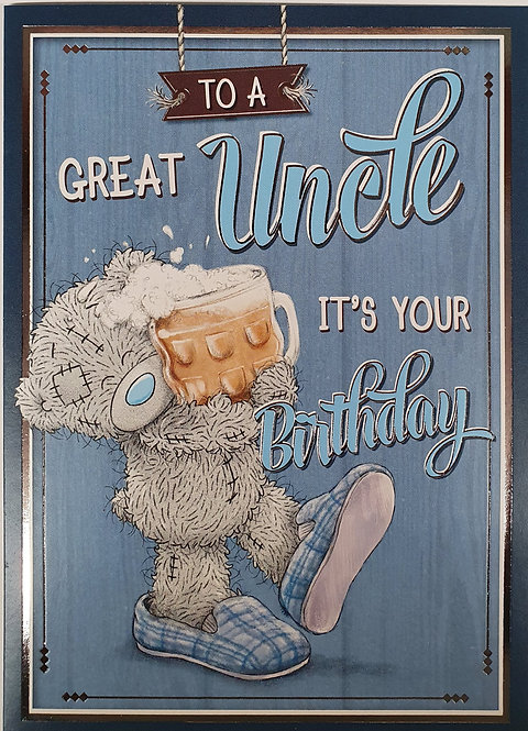 Uncle Birthday - Me To You