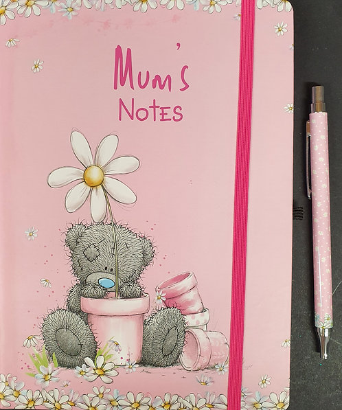 Mum's Notes Me To You Note Book And Pen
