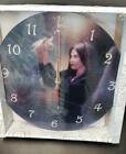Message Bearer Glass Wall Clock