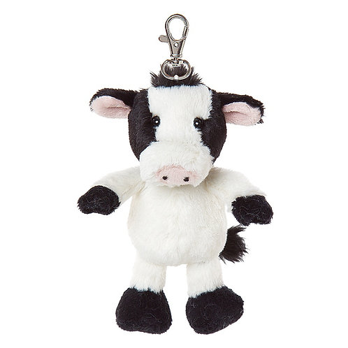 All Creatures Camilla The Cow Plush Keyring