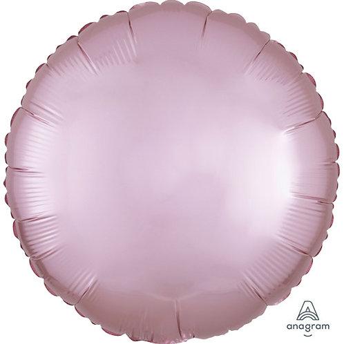 """18"""" Pastel Pink Round -  Anagram Balloon - Helium Filled"""
