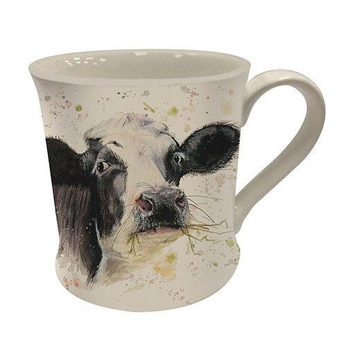Bree Merryn Fine China Mug Clover Cow