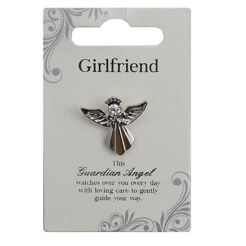 Guardian Angel Pin - Girlfriend