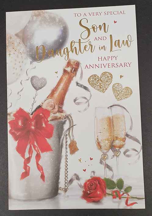 Son & Daughter-in-Law Wedding Anniversary