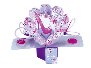 Shoe Pop Up Greeting Card