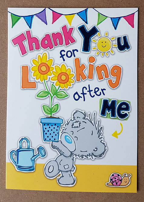 Thank You Greeting Card - Me to You