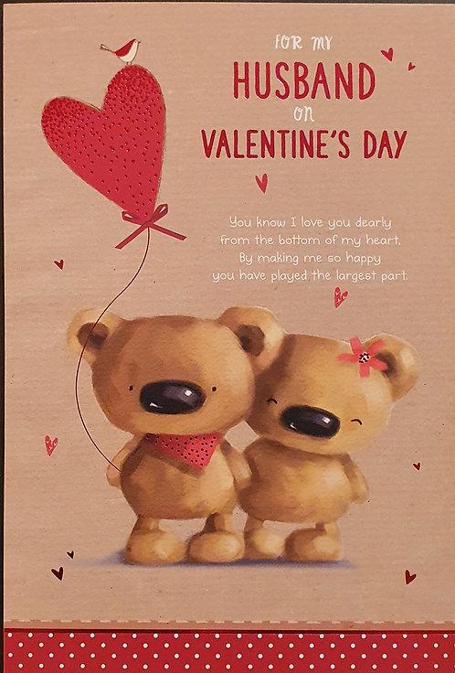 Husband Valentine's Day Card