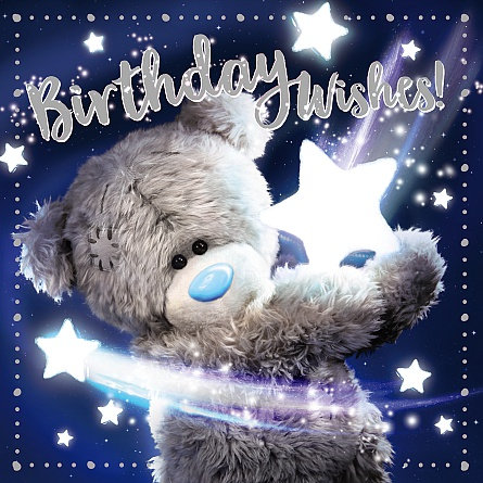 Birthday Wishes 3D Greeting Card - Me To You