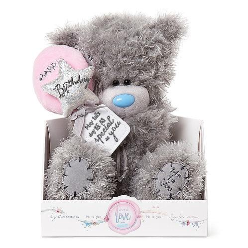Happy Birthday Balloons Tatty Teddy - Me to You Bear