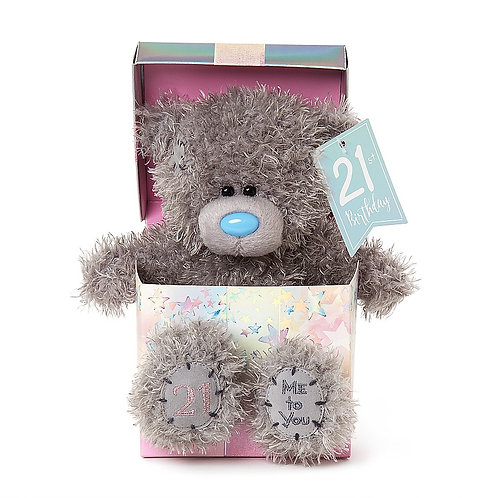 21st birthday Me To You Teddy in a Box