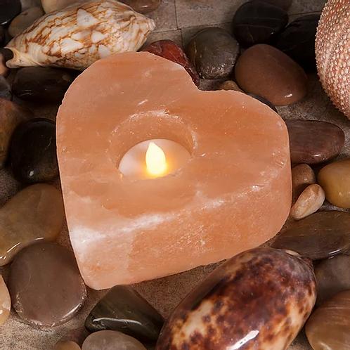 Himalayan Salt Lamp Heart Shaped - 1 - 1.2kg
